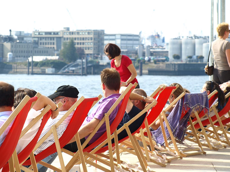 Hafencity Hamburg als es noch warm war