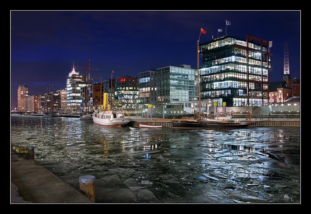 Hafencity im Winter