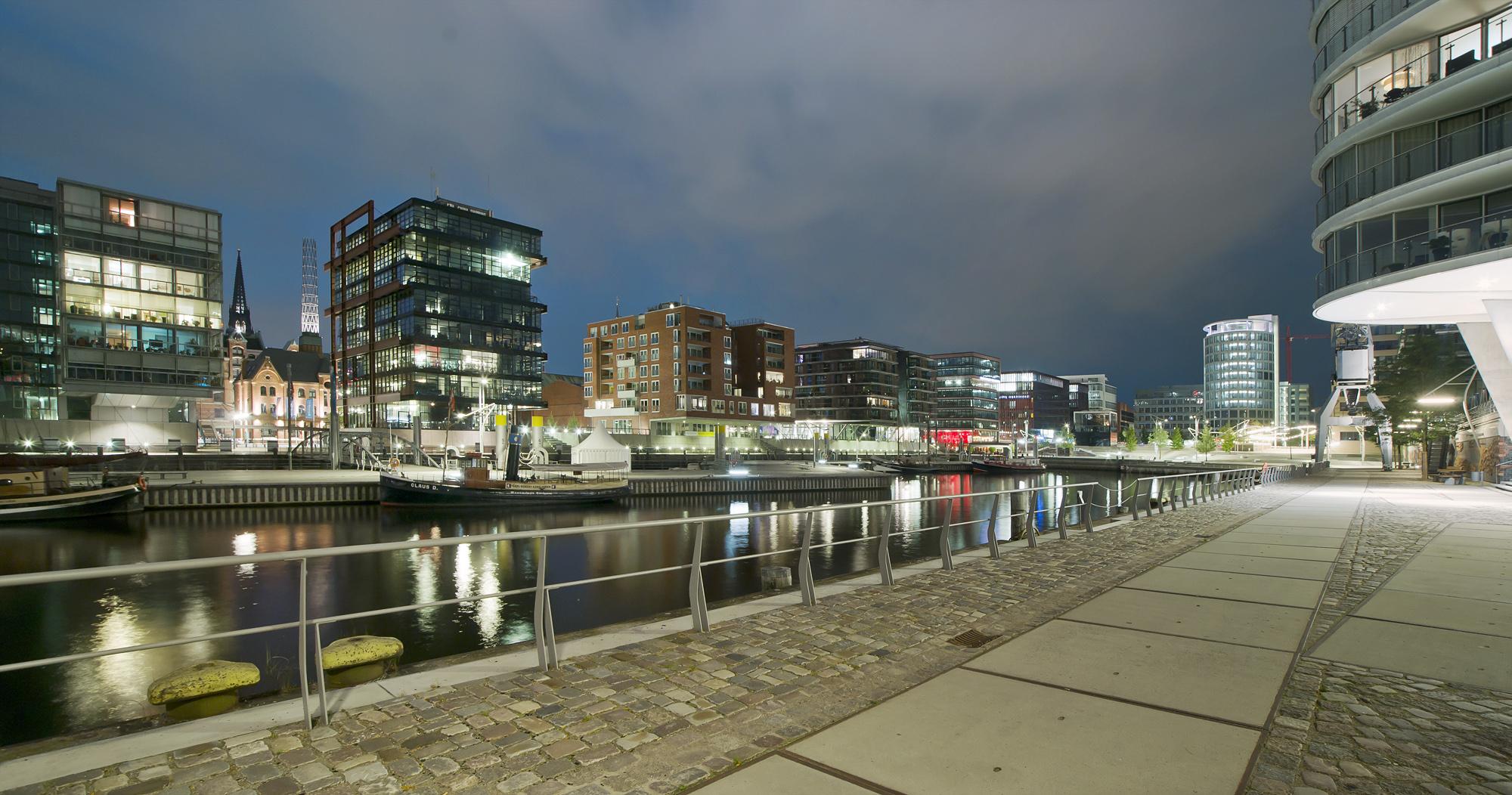 Hafencity, Sandtorkai, Hamburg