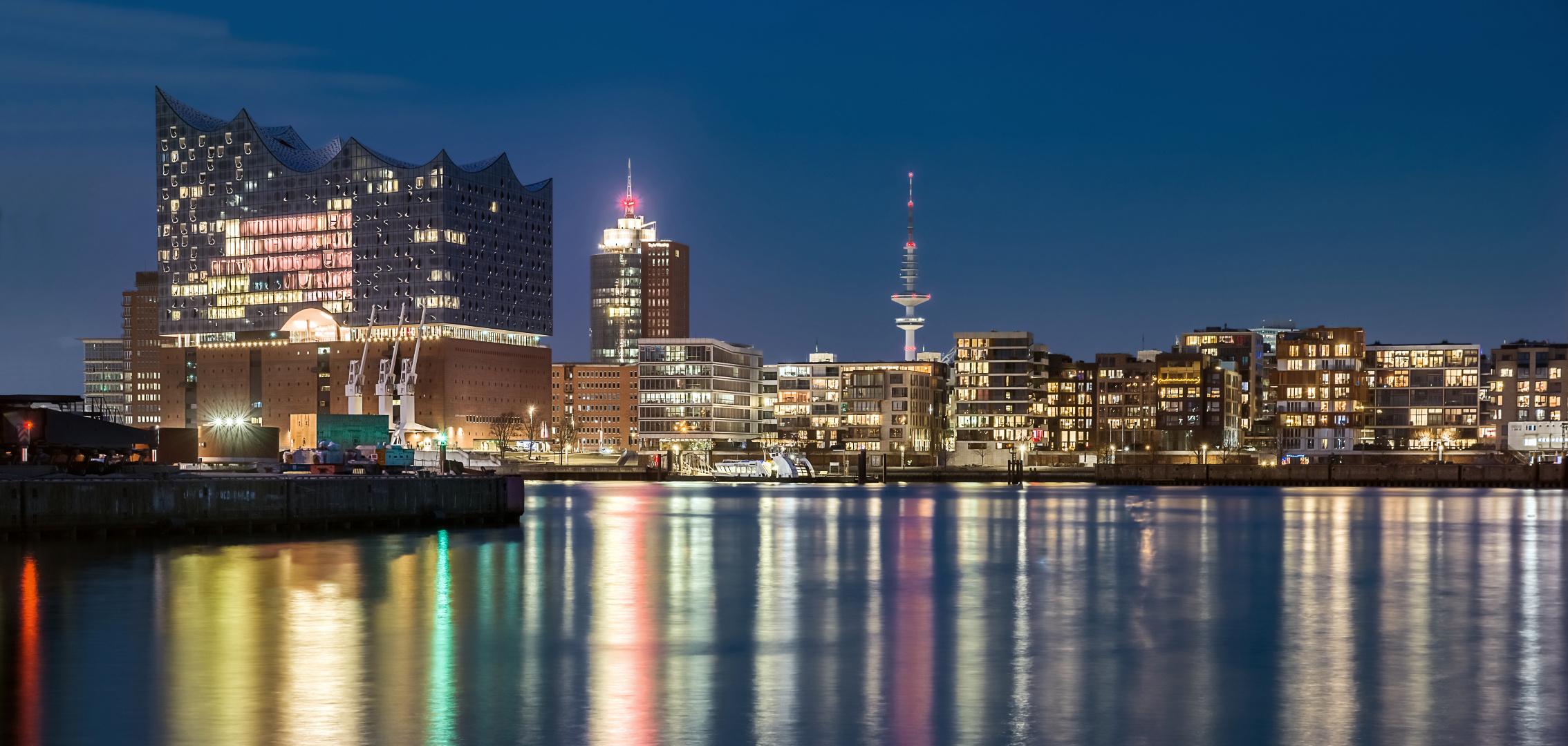 Hafencity Skyline