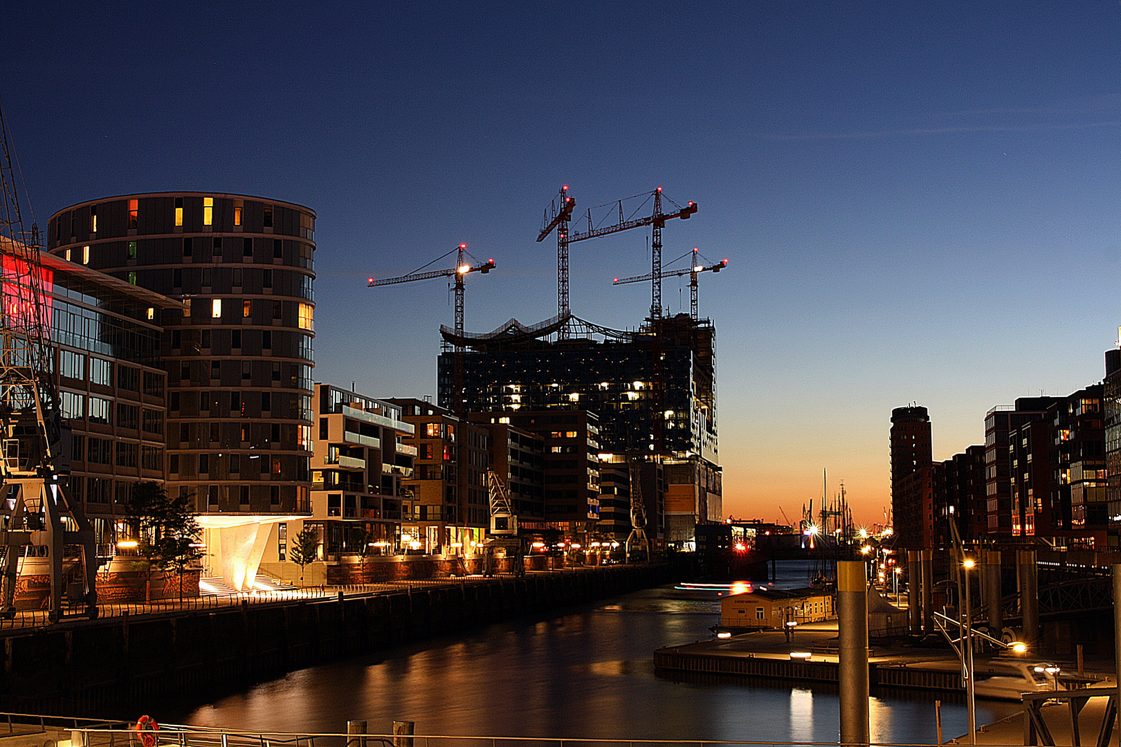 Hafencity....immer einen Blick wert