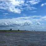 Hafeneinfahrt Büsum 2012