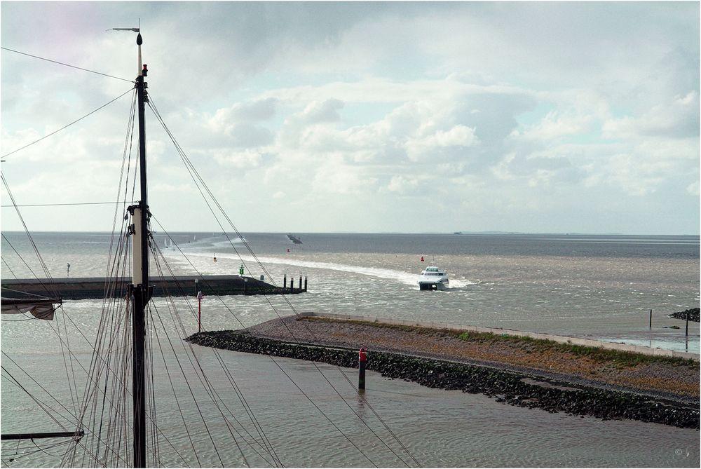 Hafeneinfahrt Harlingen