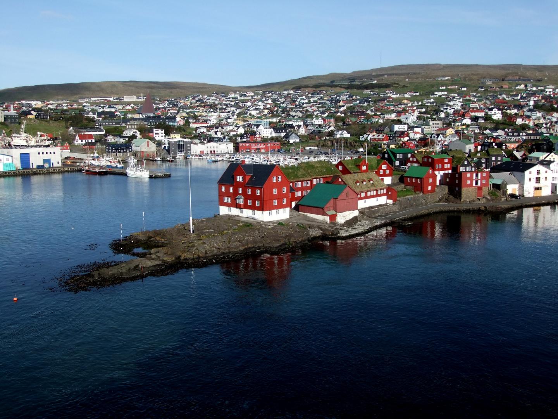 Hafeneinfahrt von Faroer