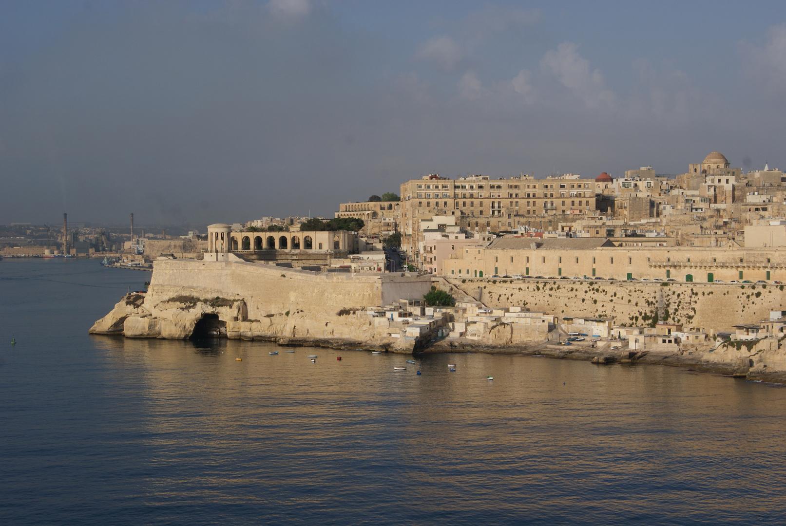 Hafeneinfahrt von Valetta