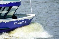 """Hafenfähre """"Elbmeile"""" im Hamburger Hafen"""