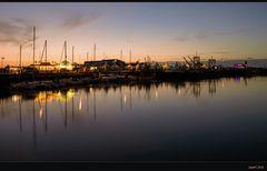 Hafenfest zur blauen Stunde...