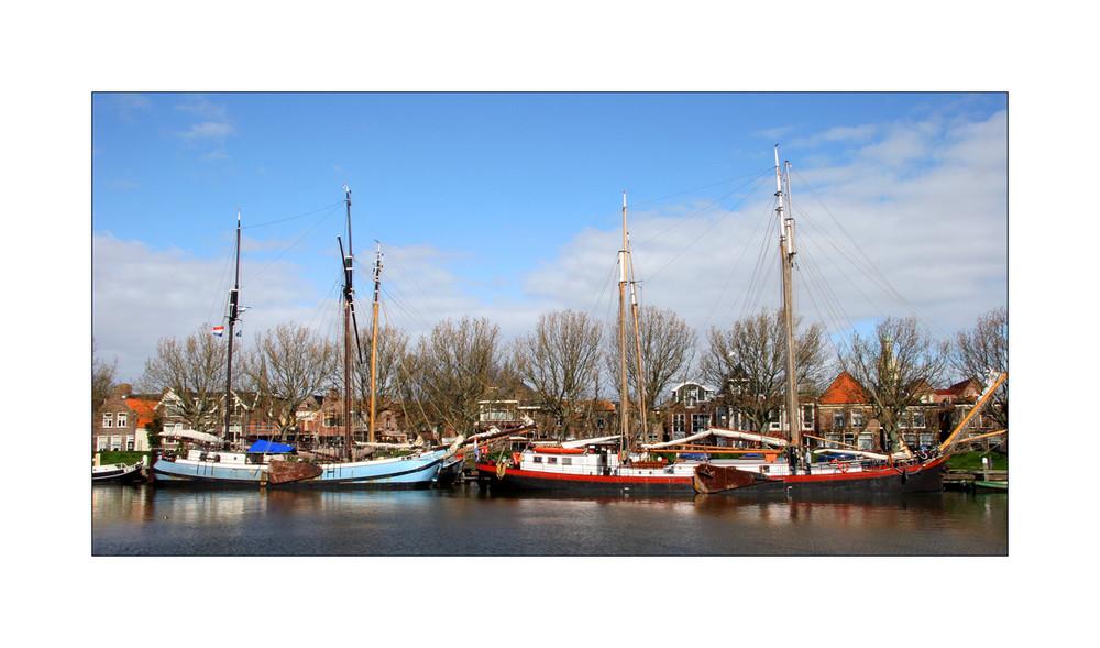 <Hafenimpression 1> Enkhuizen am Ijsselmeer