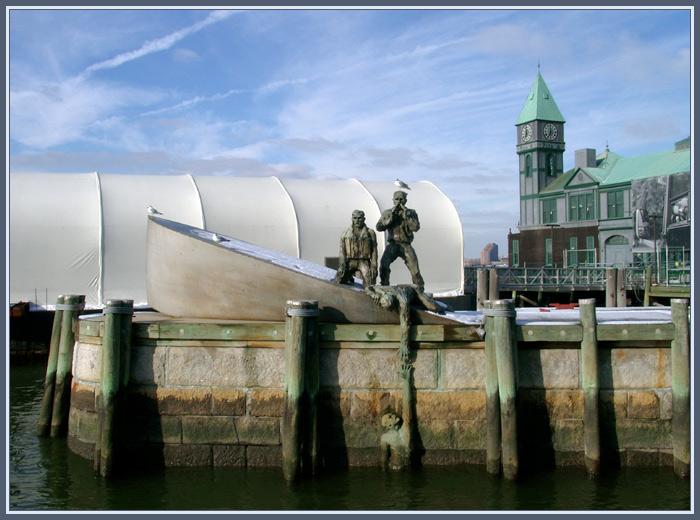 Hafenkunstwerk unbekannter Herkunft