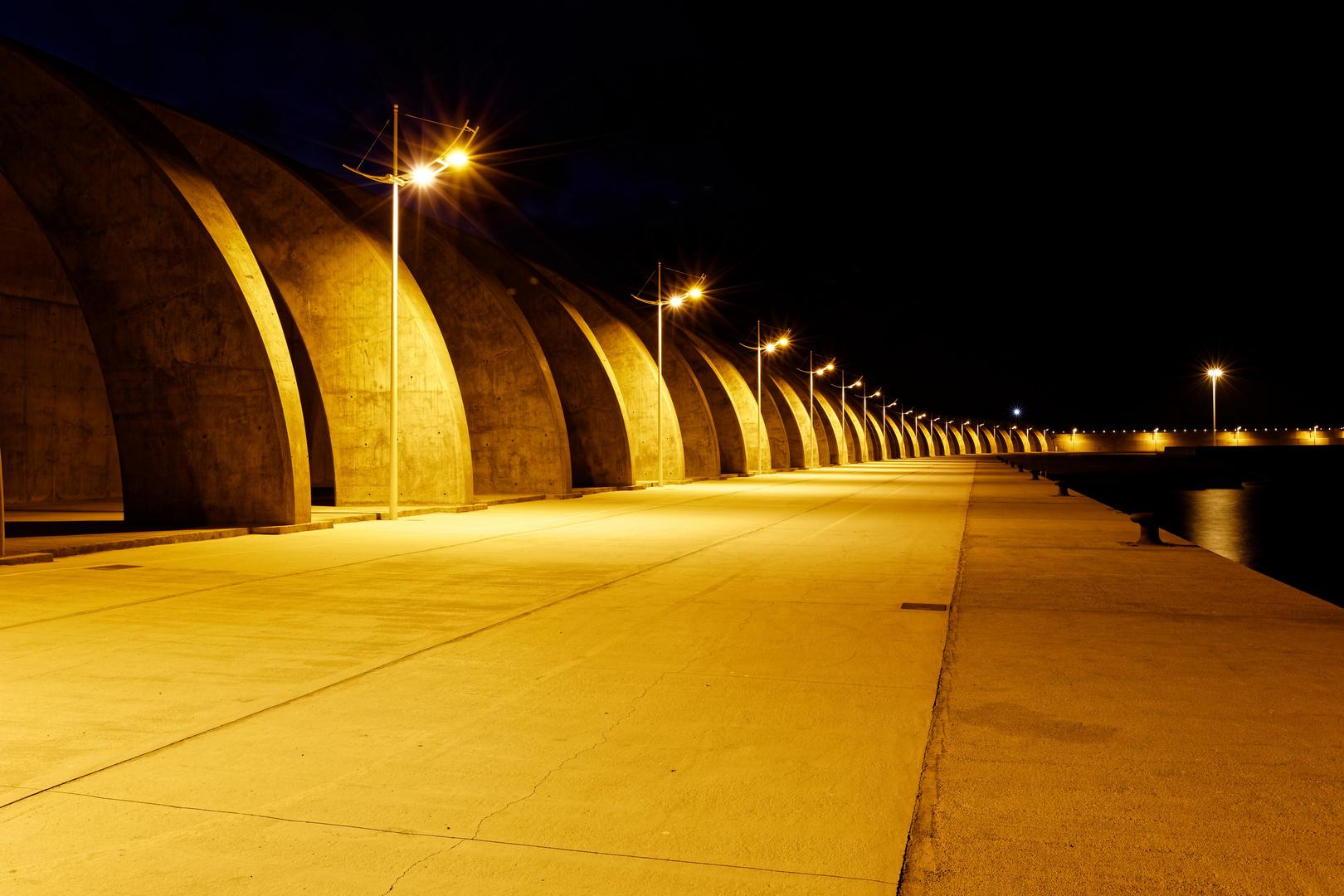 Hafenmauer von Puerto de Tazacorte