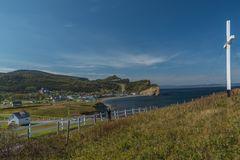 Hafenort Percé an der Ostspitze von Gaspésie