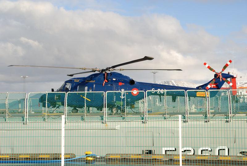 Hafenpatrouille in Reykjavik