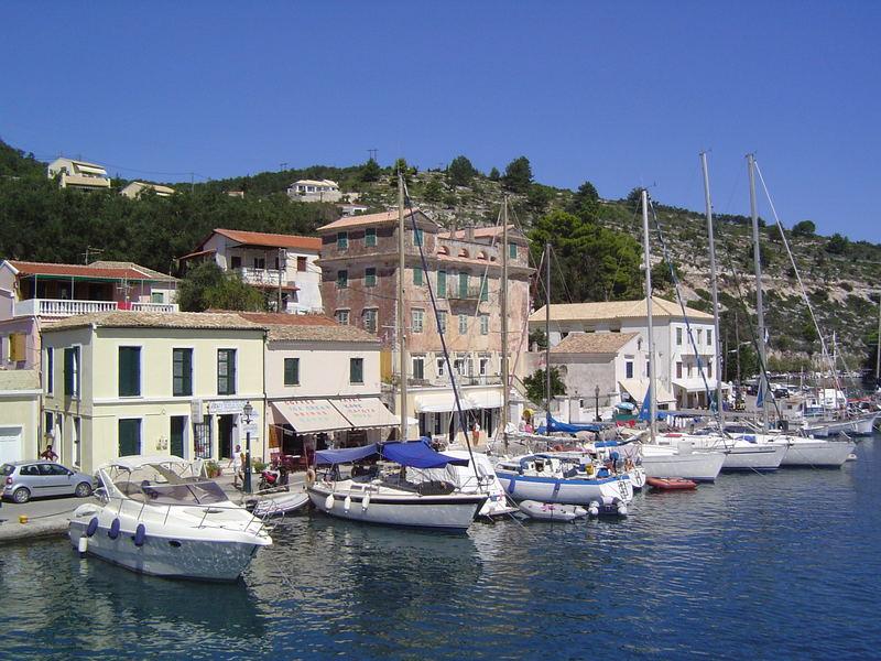 Hafenpromenade Parga