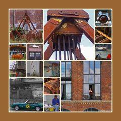 "Hafenreportage Collage   (Ende der Serie, ""Hafen Münster"""