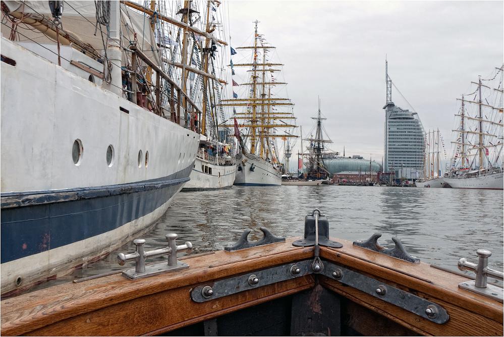 Hafenrundfahrt...