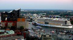 Hafenrundfahrt mit AIDA prima