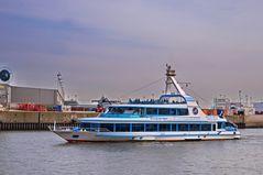 Hafenrundfahrt mit der Hamburg
