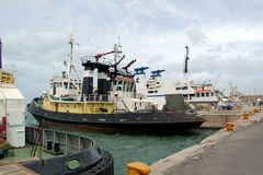 Hafenschlepper in Livorno