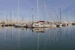 Hafenspiegel in Palma