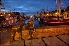 Hafenstille...