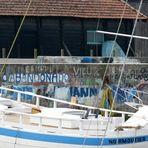 Hafenvariation in Blau - Le port en bleu