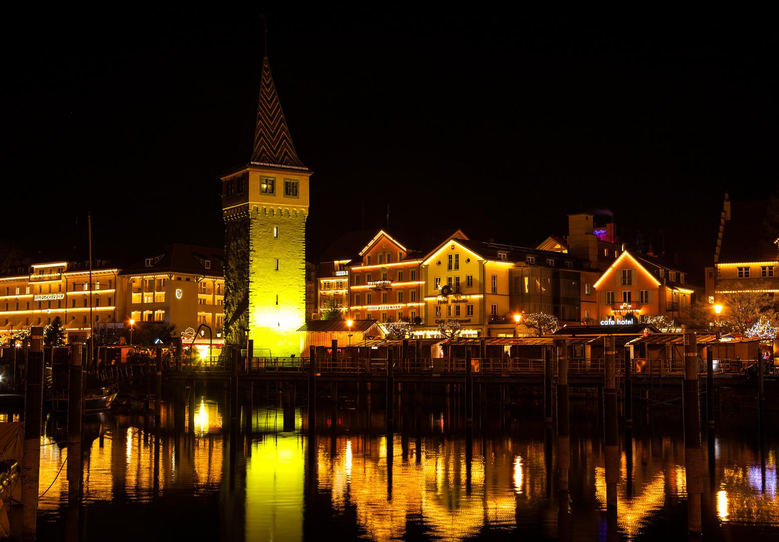 Lindau Weihnachtsmarkt.Hafenweihnacht In Bayerisch Lindau Foto Bild Jahreszeiten