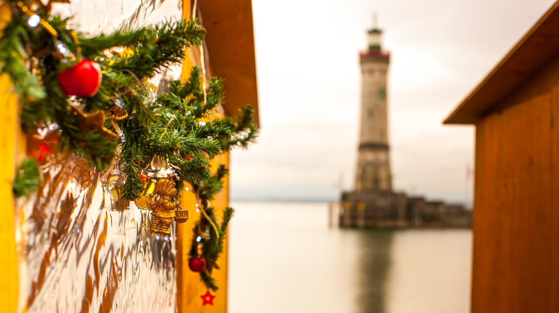Hafenweihnacht In Lindau Bodensee Foto Bild Jahreszeiten