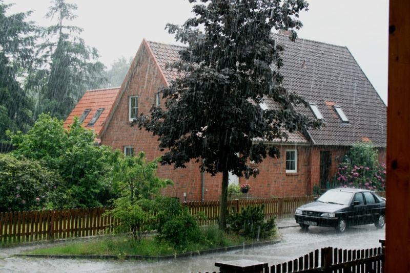 Hagel, Regen und Gewitter