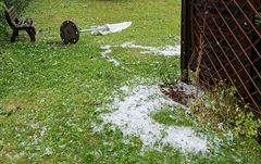 Hagelringe - ein normaler Sturm war das nicht!