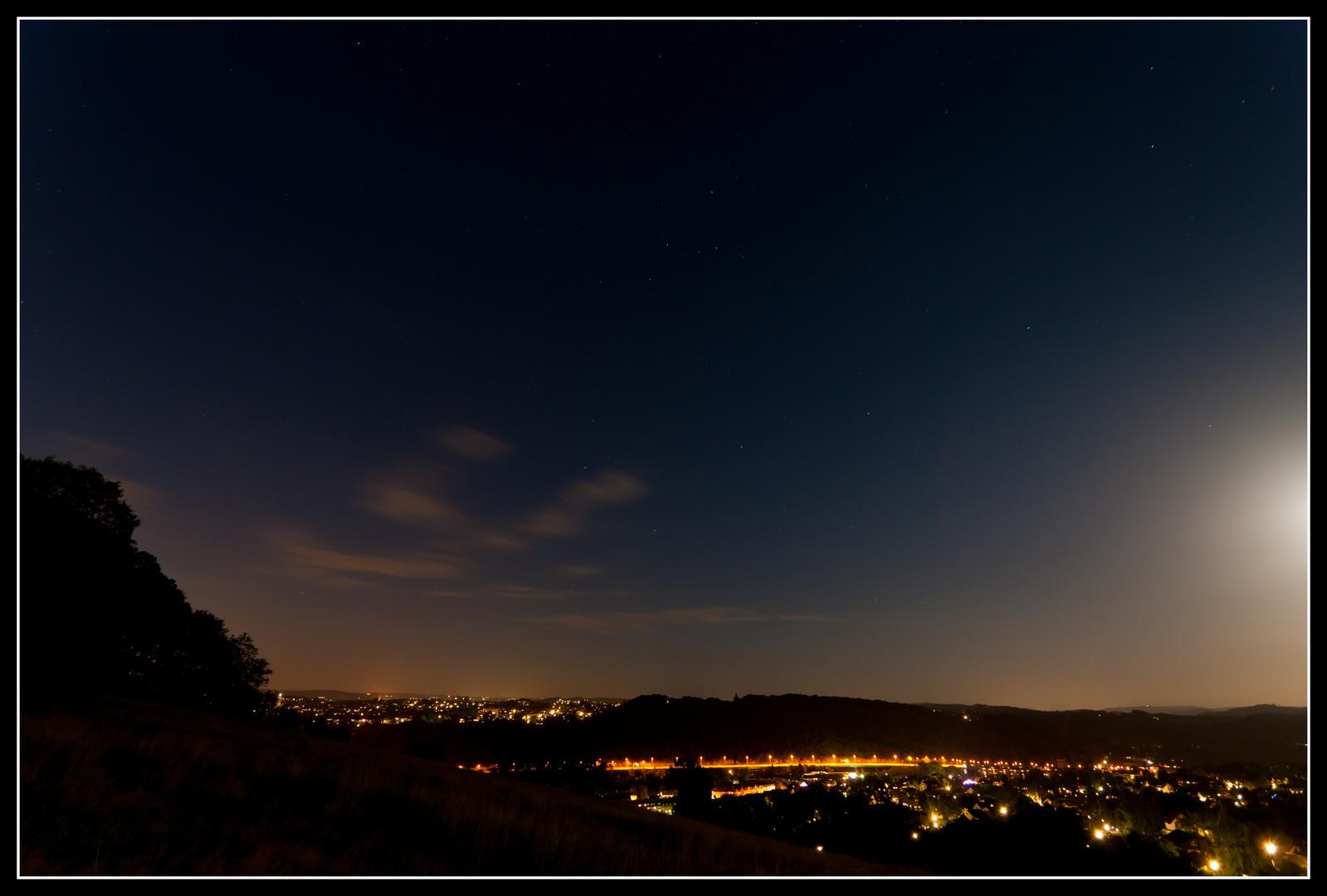 Hagen Eilpe bei Nacht