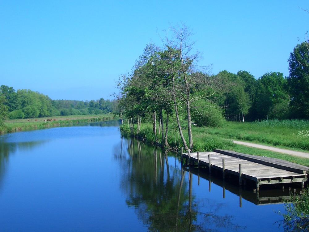 Hagenburger Kanal (Südseite Steinhuder Meer)