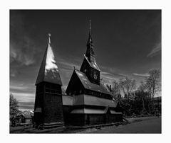"""Hahnenklee/Harz """" Gustav-Adolf-Stabkirche """""""