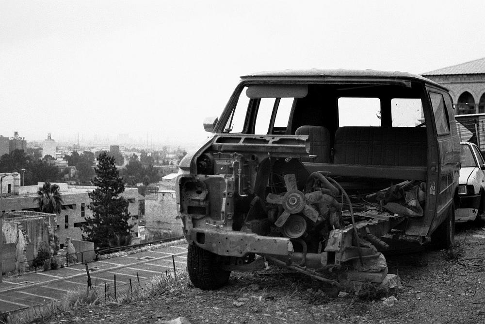 Haifa. Autofriedhof