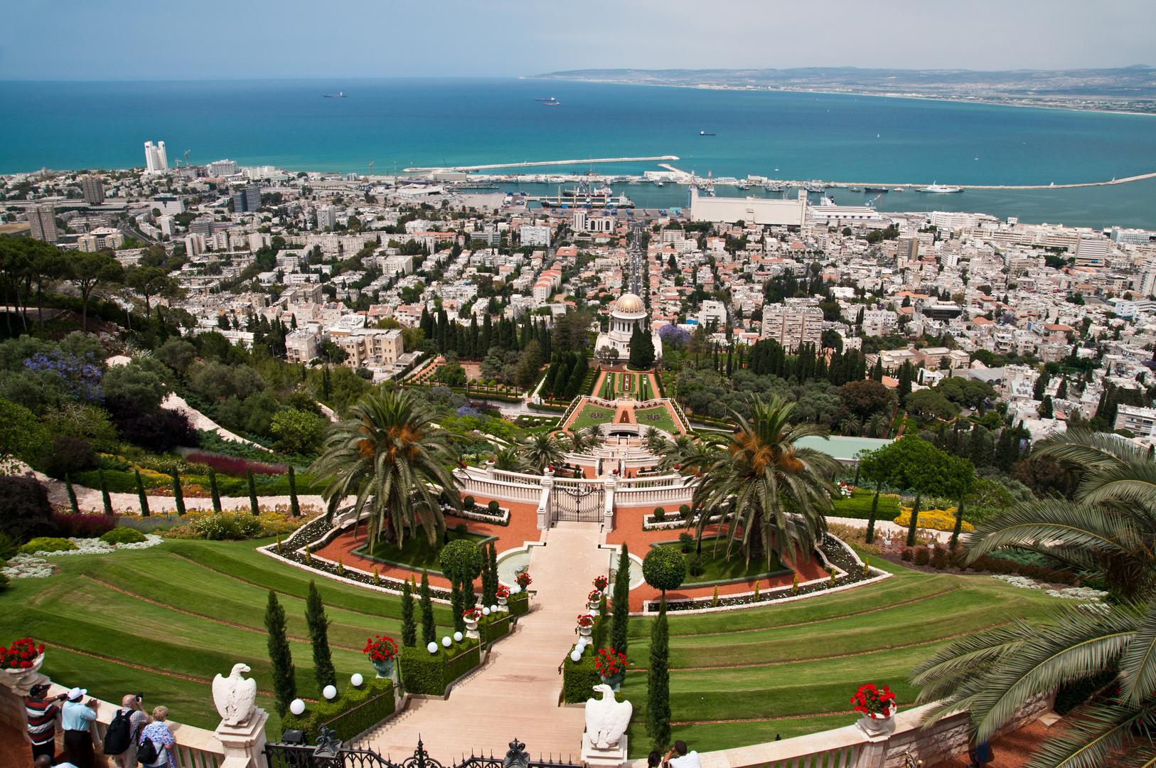 Haifa und Bahia-Tempel