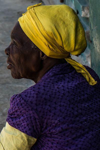 Haiti   A beautiful Haitian lady