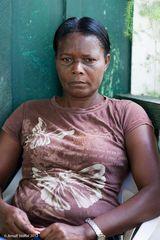Haitianische Landarbeiterfrau #1