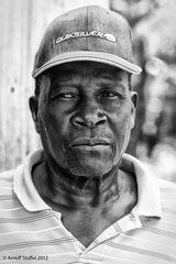 Haitianischer Zuckerrohrarbeiter