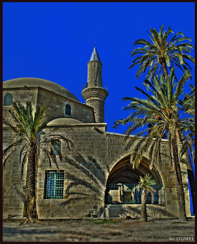 Hala Sultan in Larnaka Cyprus (HDR)