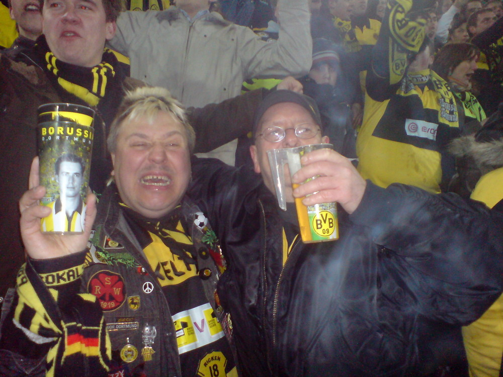 Halbfinale DFB-Pokal ( Kelty & Jörg )
