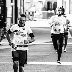 Halbmarathonläufer