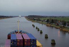 Halbzeit zwischen Kiel und Brunsbüttel