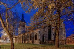 Haldensleben mit der Kirche am Markt