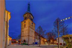 Haldensleben mit der Kirche St. Liborius