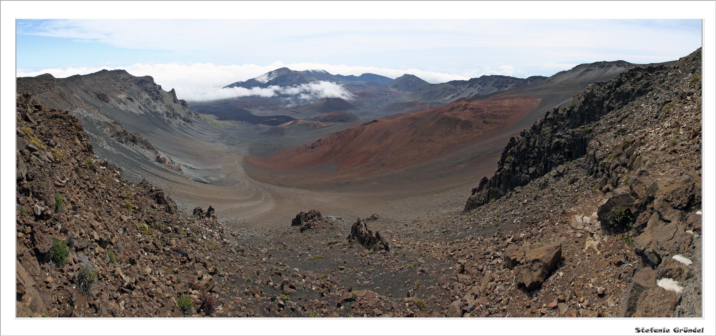 Haleakala-Krater, Maui