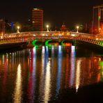 Half Penny Bridge in Dublin/Irland