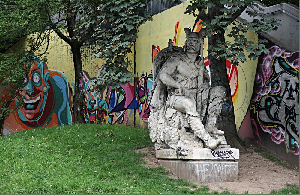 """Hall of Fame"" @Stuttgart Bad-Cannstatt - III"