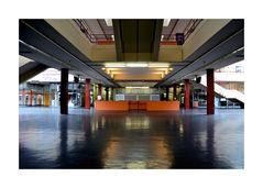 Halle der Universität Bielefeld