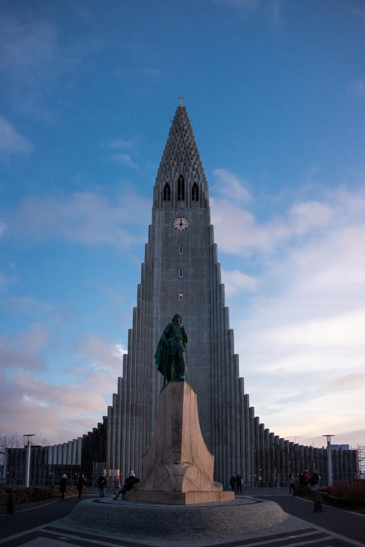 Hallgrimskirche in Reykjavic
