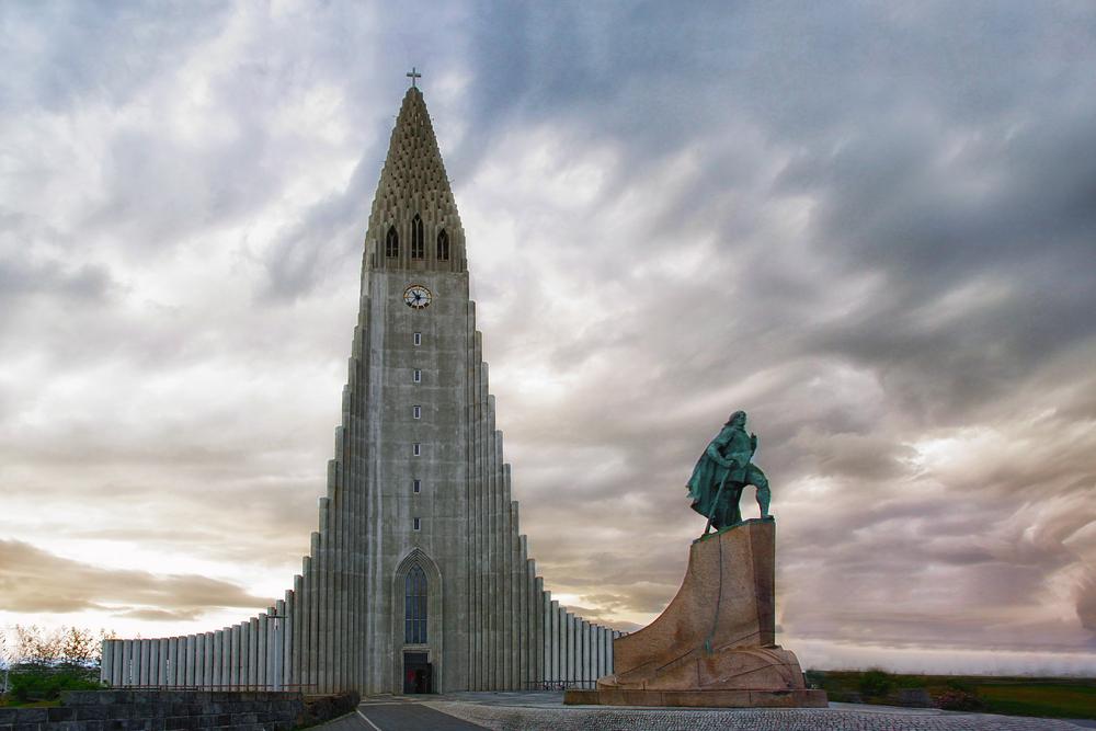 Hallgrímskirkja in Reykjavík