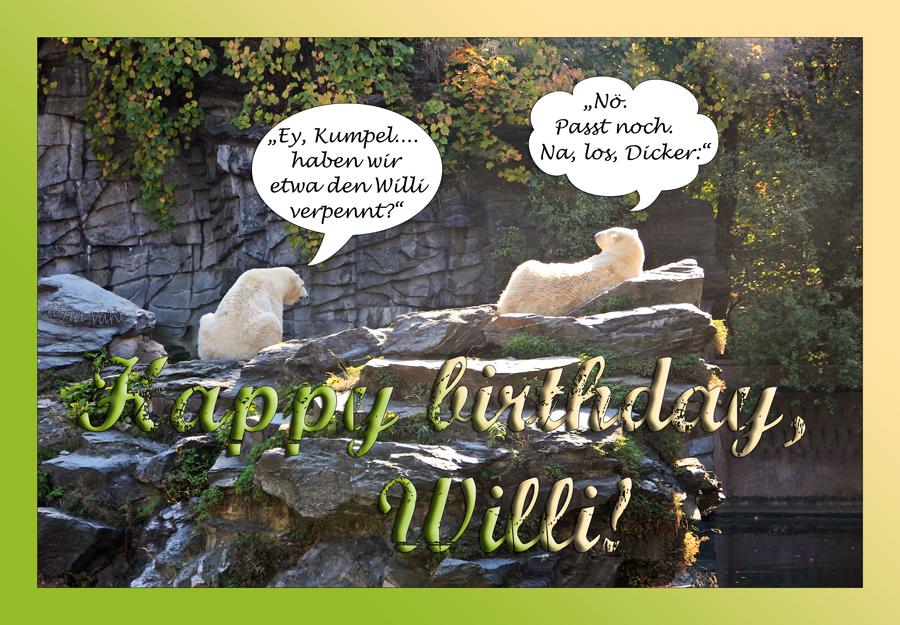 Hallo, Willi!